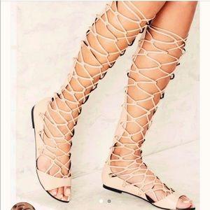 Nasty Gal gladiator sandals!!